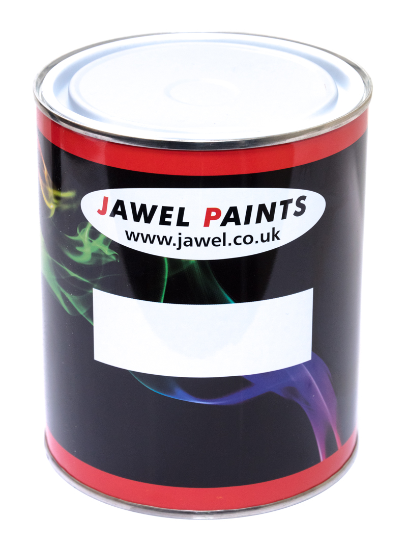 Empty Paint Tin With Lid (Jawel Branded)
