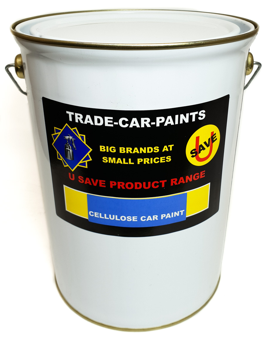 Cellulose Car Paint Stock Colour 5Litre