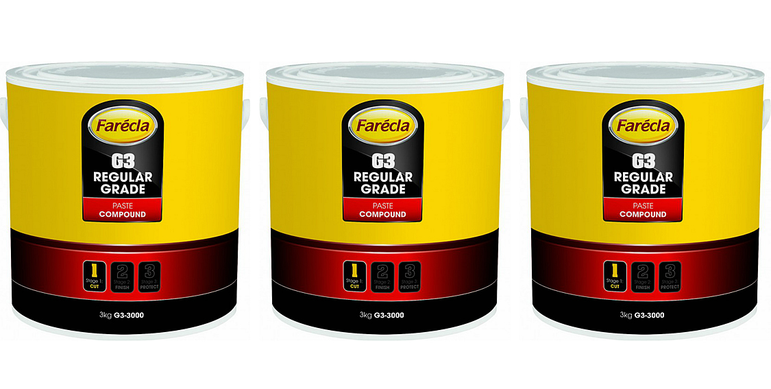 Farecla G3 Cutting Paste Compounding 3 x 3KG