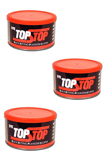 U-POL Top Stop Polyester Filler 3 x 750ml