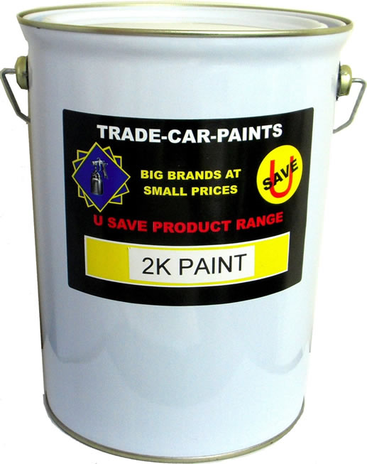 2K Acrylic Paint 5LTR Stock Colour Gloss