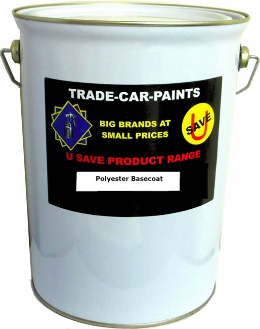Polyester Basecoat 5 Litre Stock Colour