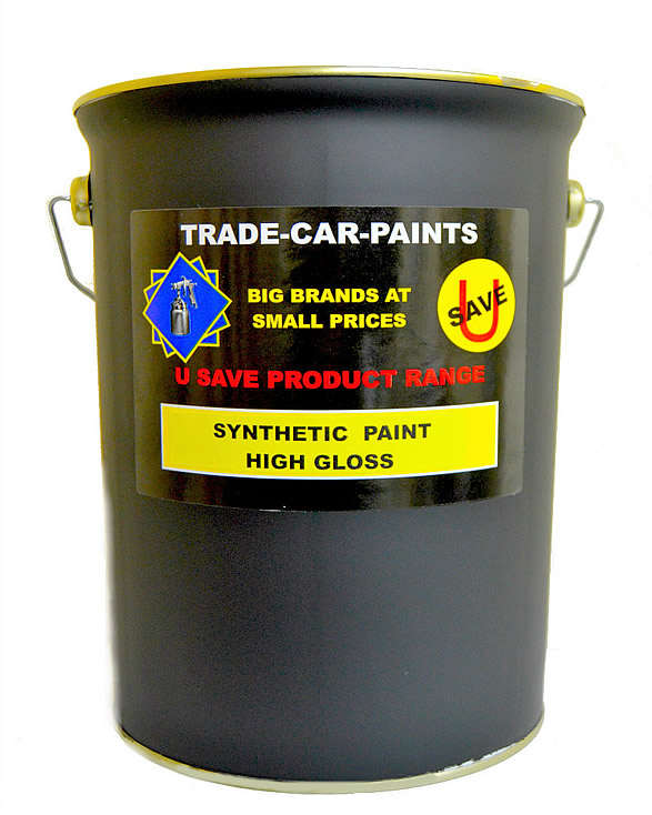 Synthetic Paint 5 Litre High Gloss Any B.S or RAL Colour
