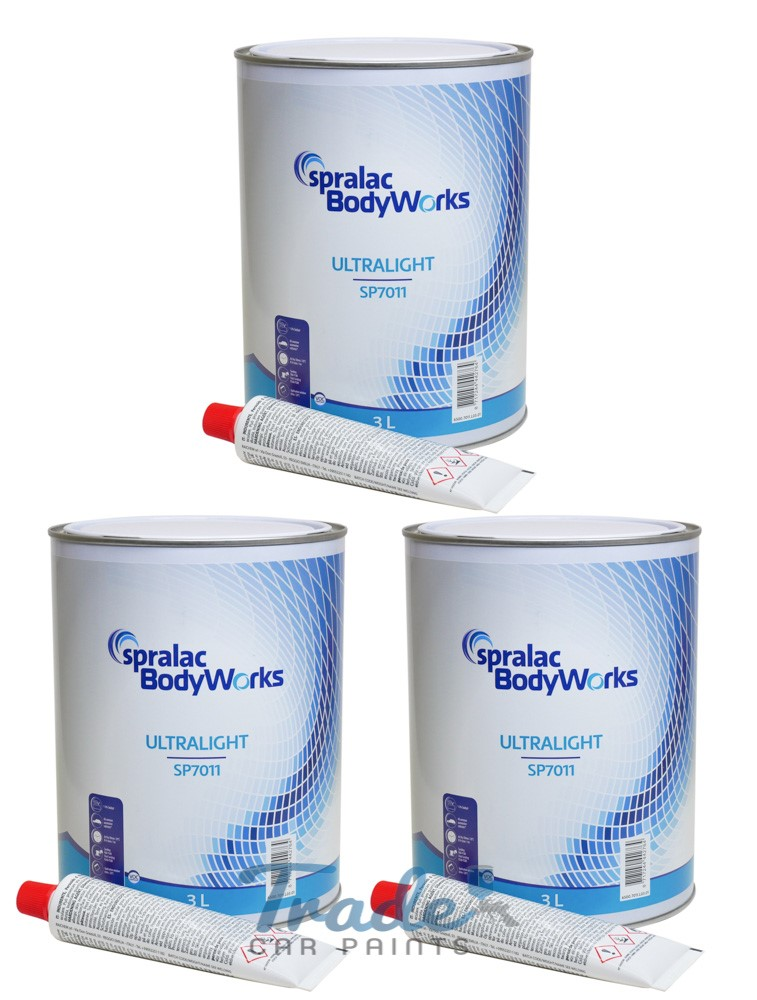 Spralac ULTRALIGHT Body Filler 3 x 3Litre SP7011
