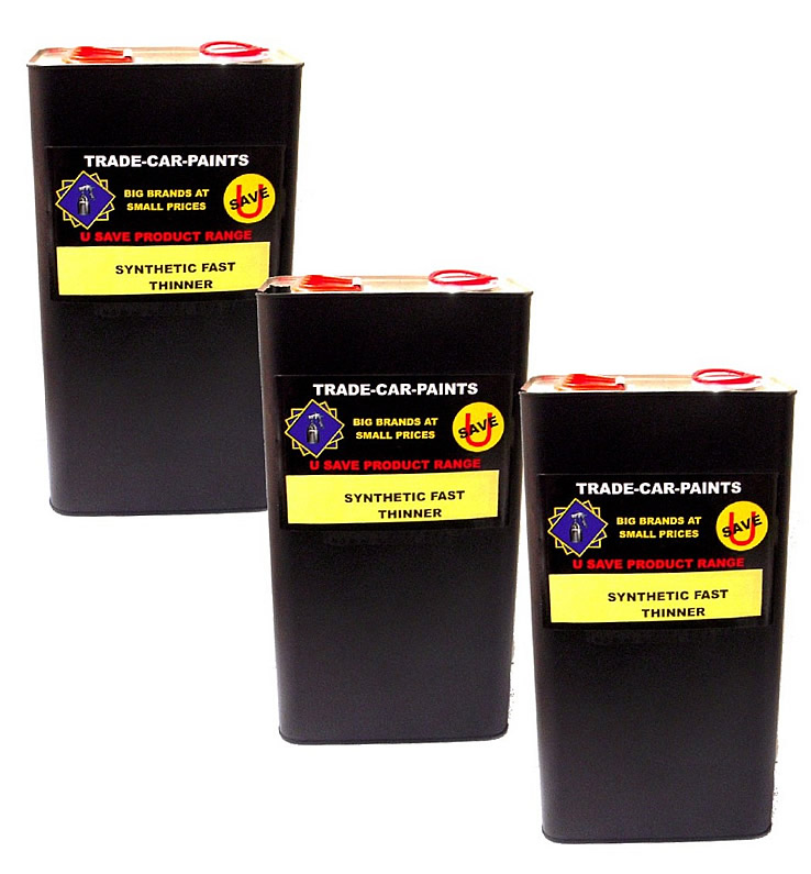 Synthetic Fast Universal Thinner 3 x 5Litres