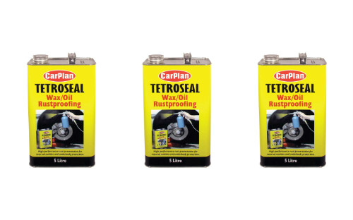 Tetroseal Waxoyl Underbody Protection 3 x 5Litre