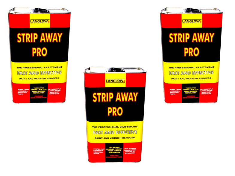 Paint Stripper/ Remover Heavy Duty 3 x 5LTR